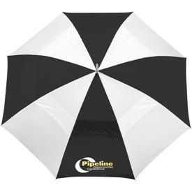 "60"" Vented Golf Umbrella for Your Organization"
