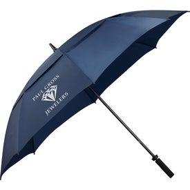 "Monogrammed 62"" Course Vented Golf Umbrella"