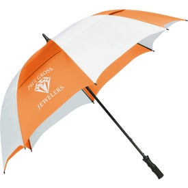"62"" Course Vented Golf Umbrella for Advertising"
