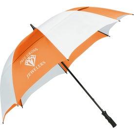 "62"" Course Vented Golf Umbrella for Advertising"
