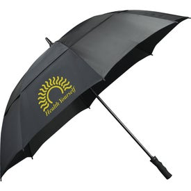 "62"" Course Vented Golf Umbrella Printed with Your Logo"