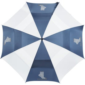"""62"""" Course Vented Golf Umbrella for Promotion"""