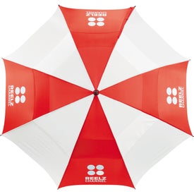 "62"" Course Vented Golf Umbrella for Customization"