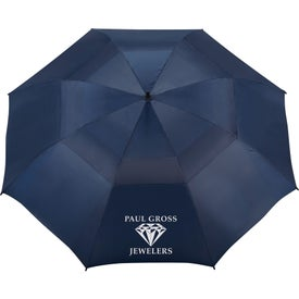 "62"" Course Vented Golf Umbrella for Marketing"
