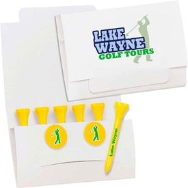 6-2 Golf Tee Packets