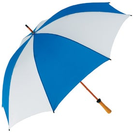 "62"" Wood Shaft Golf Umbrella for Promotion"