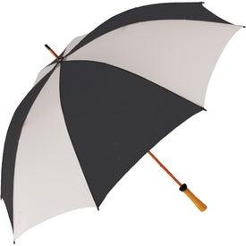 "62"" Wood Shaft Golf Umbrella for Customization"