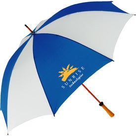 "62"" Wood Shaft Golf Umbrella"