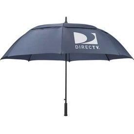 "Logo 64"" Arc Slazenger Caddy Vented Automatic Golf Umbrella"