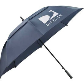 "64"" Arc Slazenger Caddy Vented Automatic Golf Umbrella for Promotion"