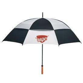 "68"" Arc Vented Golf Umbrella for Your Organization"