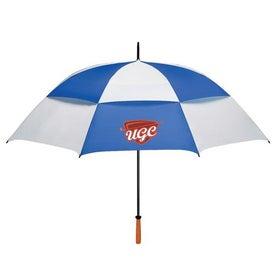 "68"" Arc Vented Golf Umbrella with Your Logo"