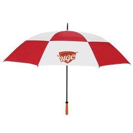 "68"" Arc Vented Golf Umbrella for Your Church"