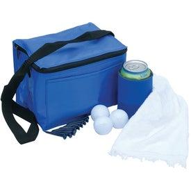 Logo 6 Pack Cooler Bag Tournament Pack