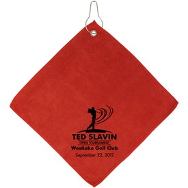 Customized Augusta Microfiber Golf Towel