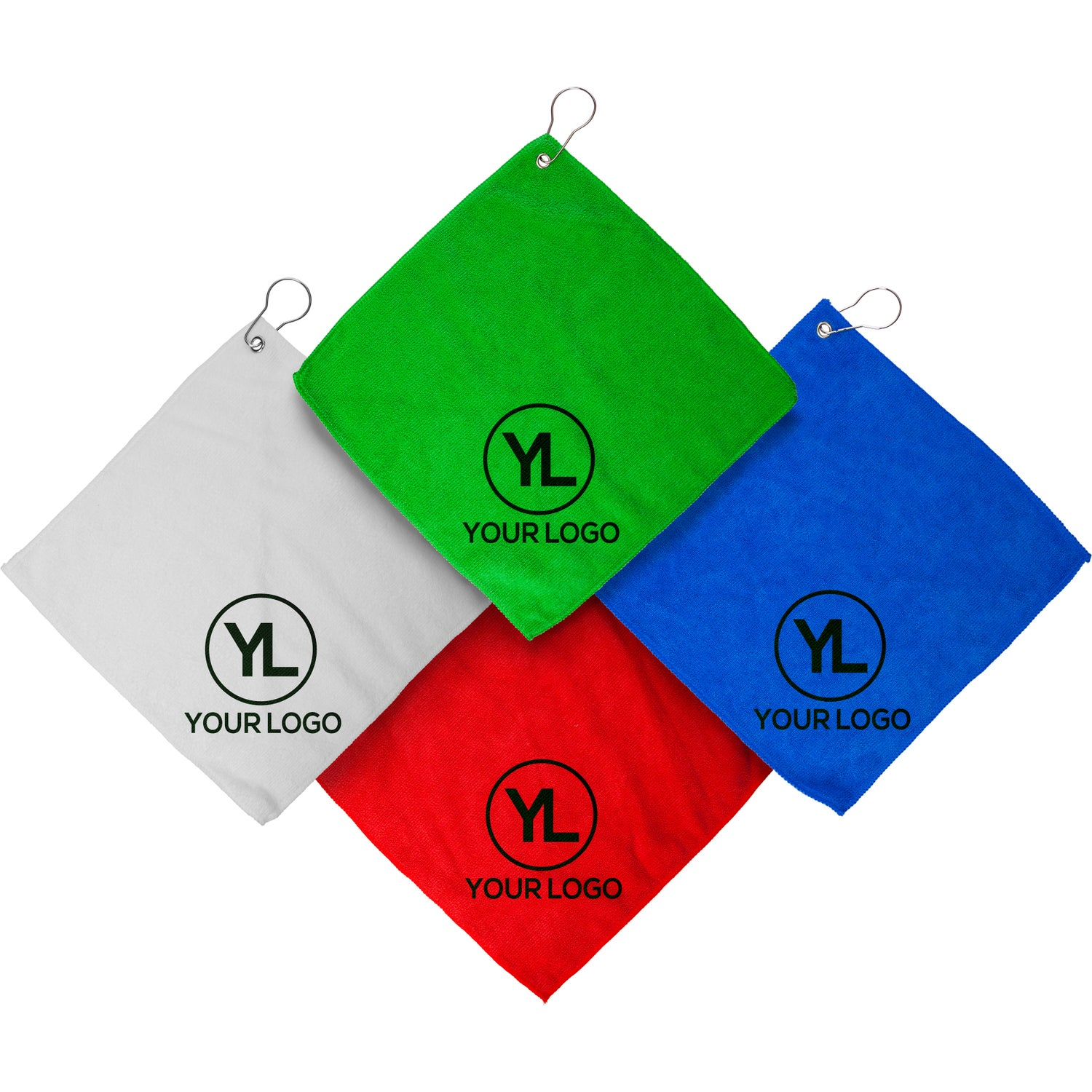 Augusta Microfiber Golf Towel Imprinted With Your Logo