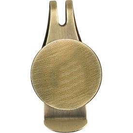 Customized Engraved Ball Marker Hat Clip