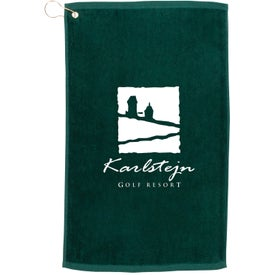 "Budget Golf Towel (Colors, 14"" x 22"")"