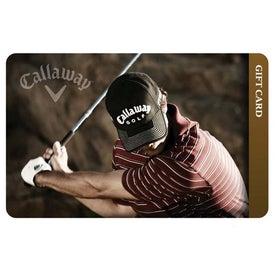 Callaway Golf Gift Card-$100 for Customization