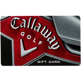 Custom Callaway Golf Gift Card-$100