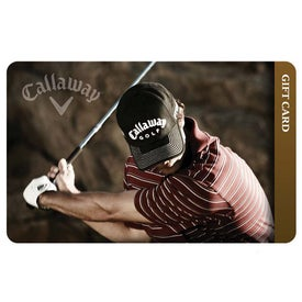 Callaway Golf Gift Card-$50 with Your Logo