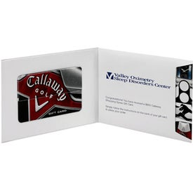 Logo Callaway Golf Gift Card-$50