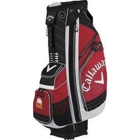 Callaway XTT Xtreme Cart Bag for Advertising