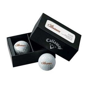 Callaway 2 Ball Business Card Box HX Diablo Tour