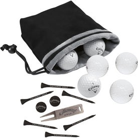 Callaway 6-Ball Valuables Pouch HEX Black Tour Giveaways