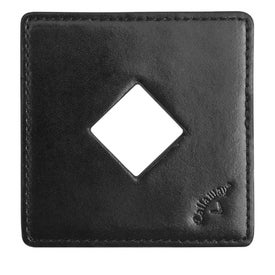 Callaway Leather Coaster Set with Bottle Opener Printed with Your Logo
