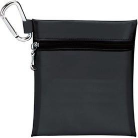"Logo Champion Golf Jumbo Zipper Pack w/ 2 1/8"" Tee"