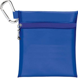 "Champion Golf Jumbo Zipper Pack w/ 2 1/8"" Tee with Your Logo"