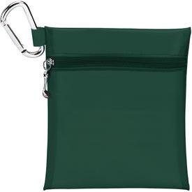 "Branded Champion Golf Jumbo Zipper Pack w/ 2 1/8"" Tee"
