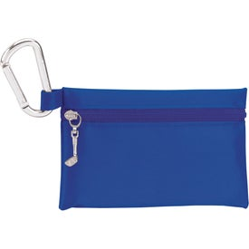 """Branded Champion Golf Zipper Pack with 2-3/4"""" Tees"""