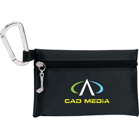 "Custom Champion Golf Jumbo Zipper Pack with 3 1/4"" Tees"