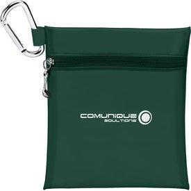 "Monogrammed Champion Golf Jumbo Zipper Pack - 2 1/8"" Tee"