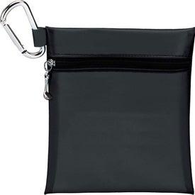 "Logo Champion Golf Jumbo Zipper Pack with 2 3/4"" Tees"
