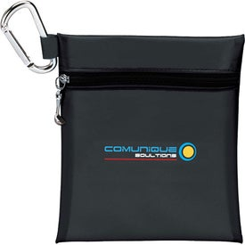"""Imprinted Champion Golf Jumbo Zipper Pack with 2 3/4"""" Tees"""