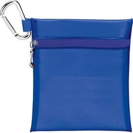 "Company Champion Golf Jumbo Zipper Pack with 2 3/4"" Tees"