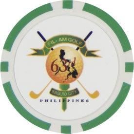Branded Clay Poker Chip