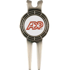 Contemporary Divot Tool Money Clip for Promotion