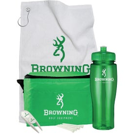 Contour Bottle Golf Gift Set with Your Logo