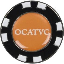 Logo Metal Poker Marker Chip