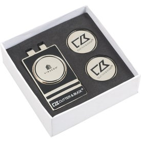 Cutter & Buck(R) Tour Money Clip Gift Set