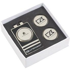 Cutter & Buck(R) Tour Money Clip Gift Set