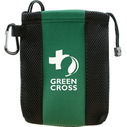Green / Black Cypress Deluxe Golf Tote with Carabiner