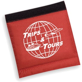 Deluxe Luggage Spotter with ID Address Pocket with Your Logo