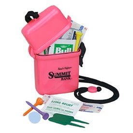 Deluxe Survivor Golfer's Survival Kit
