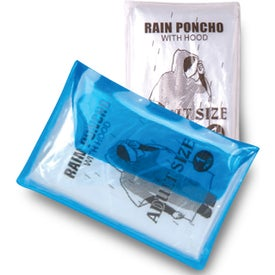 Deluxe Vinyl Pouch with Rain Poncho