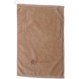 Custom Diamond Collection Golf Towel